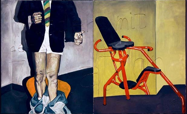 1Martin_Kippenberger_Down_With_Inflation1984