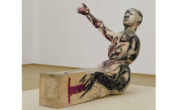 1baselit-georg_Modell-fur-eine-Skulptur_1980_LudwigMusKoln